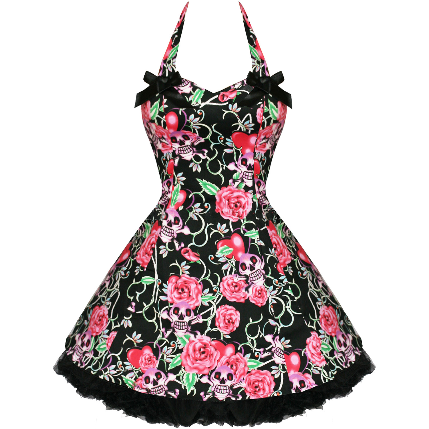 Short Rockabilly Dresses