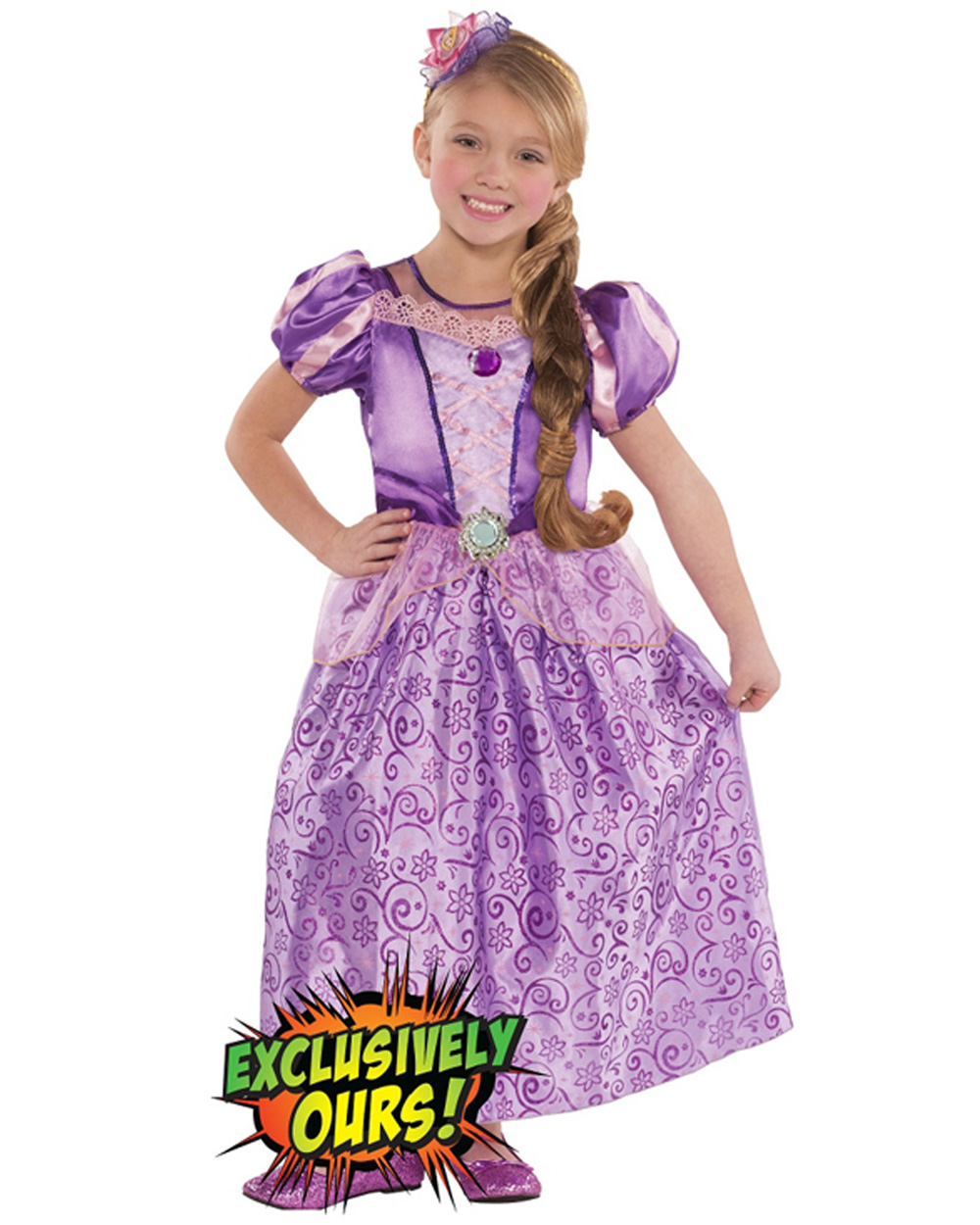 Picture suggestion for Rapunzel Fancy Dress Costume Argos