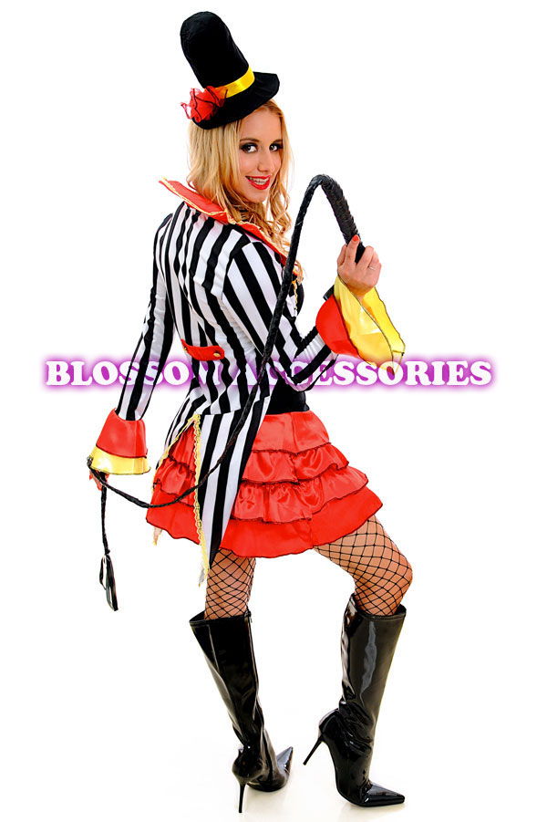 Tamer Ringmaster Costume Outfit Women S