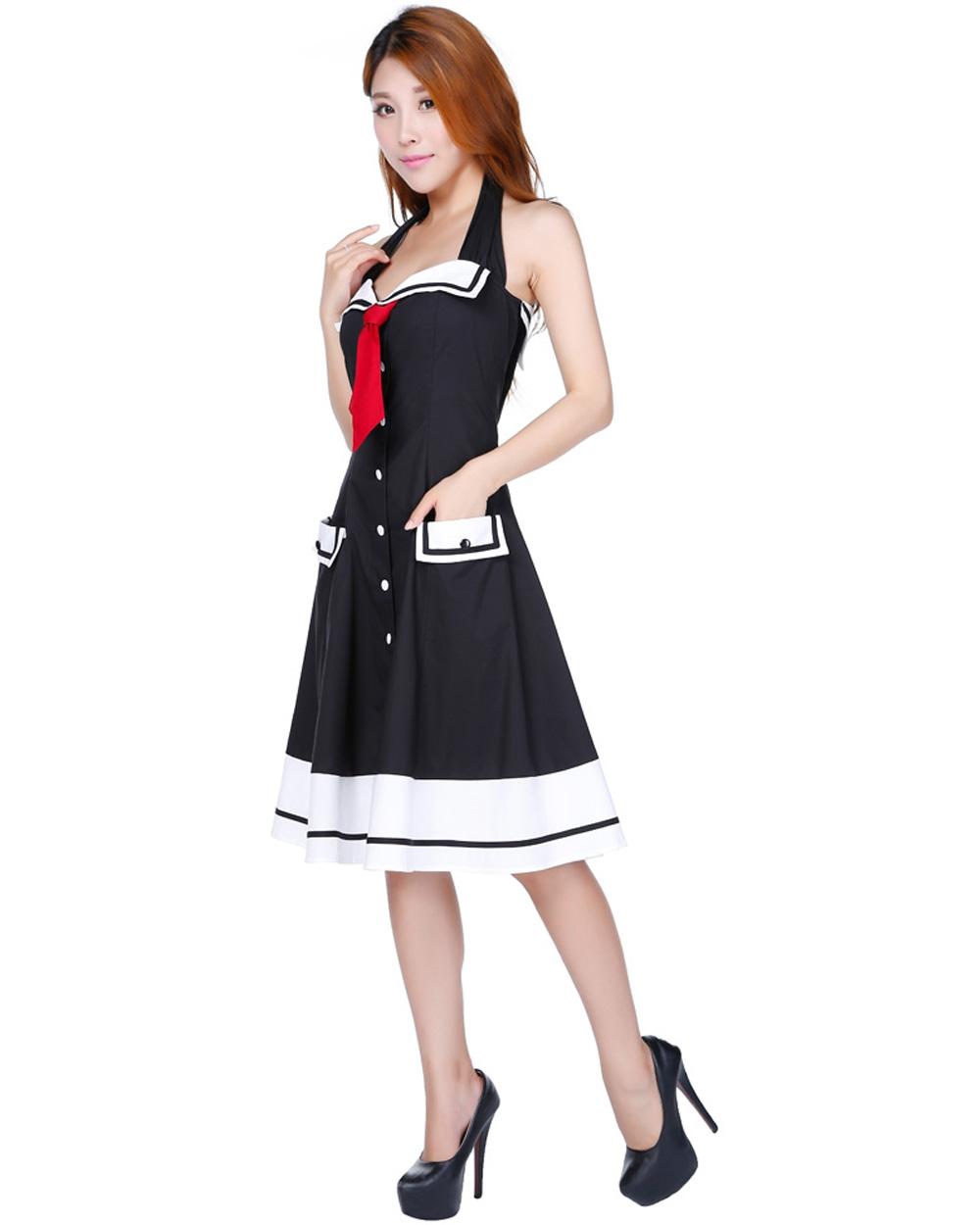 RK103 Rockabilly Sailor Retro Nautical Costume Dress Pin ...