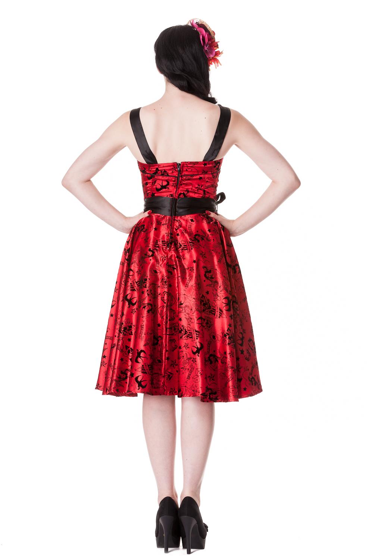 Satin Rockabilly Swing Prom Dresses