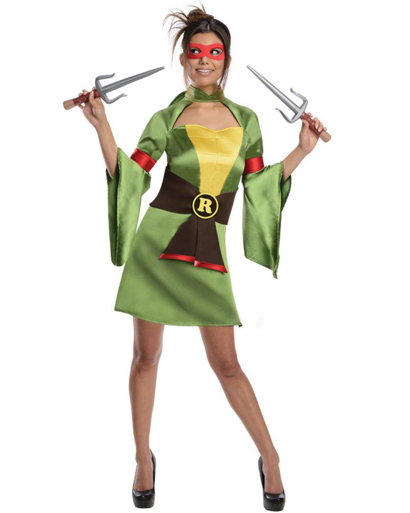 CL61 Womens TMNT Geisha Sexy Costume Teenage Mutant Ninja ...