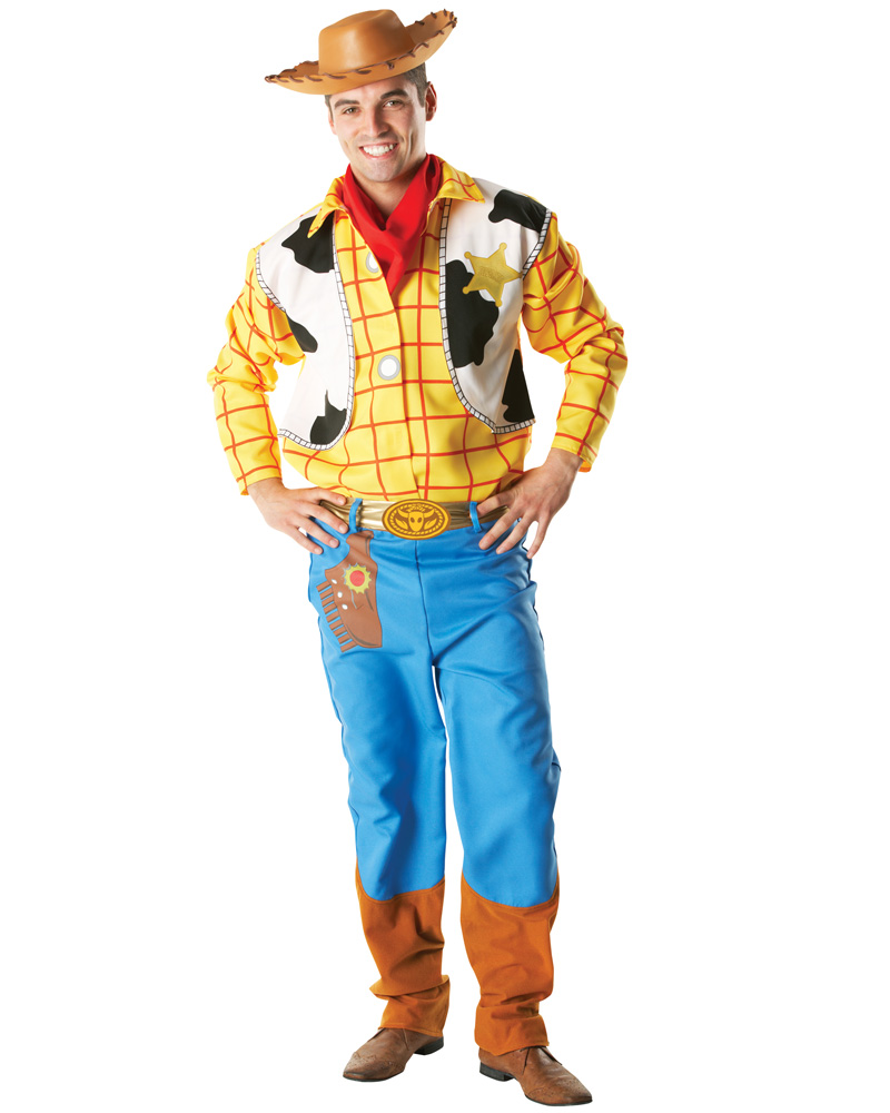 description toy story woody adult costume this licensed disney costume ...