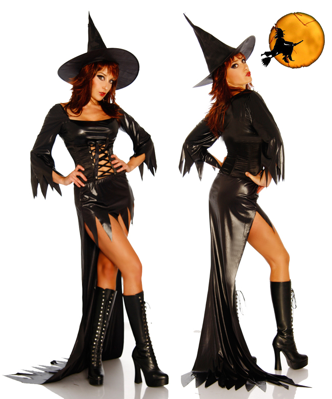 DIY Halloween witch costume Костюм ведьмы своими руками