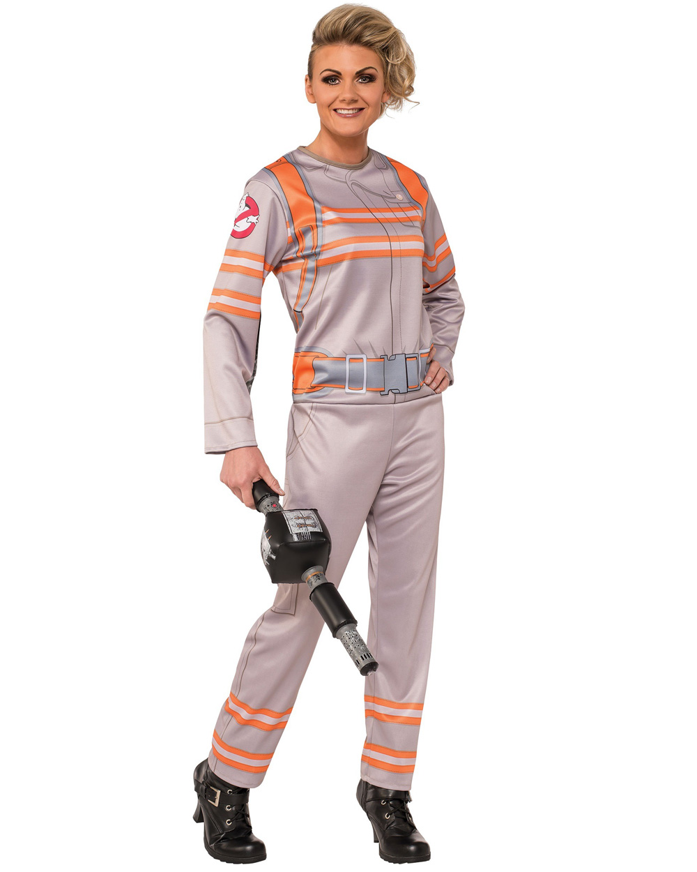 cl964 womens movie theme ghostbusters jumpsuit fancy dress