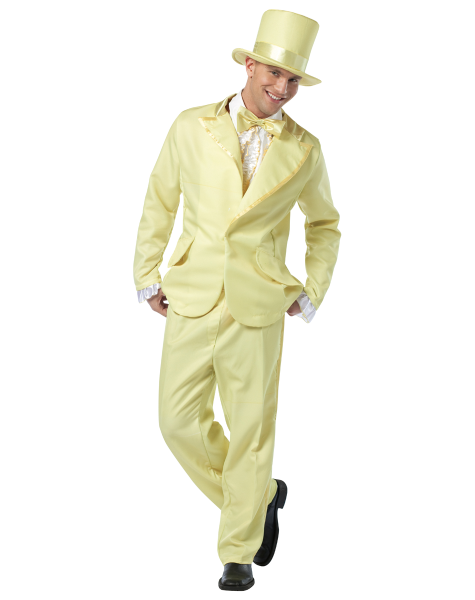 C916 Funky Tuxedo Mens 60s 70s Prom Suit Fancy Dress Adult Party ...