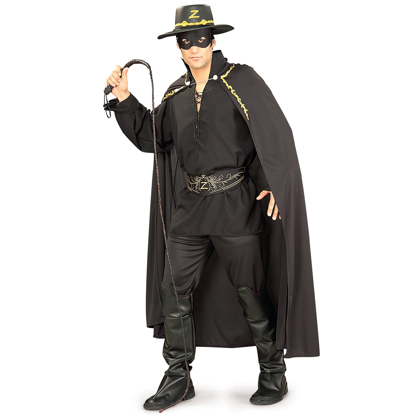 A73 Zorro Bullwhip With Sound Fancy Dress Halloween