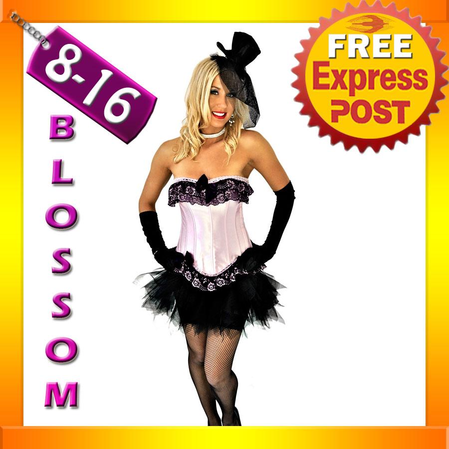 8811-Sexy-Burlesque-Pink-Moulin-Corset-Tutu-8-10-12-14