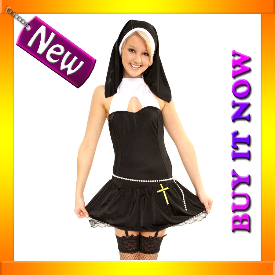 nun costume Sexy Sister Bliss Nun Costume Nun Costumes   Mr. Costumes